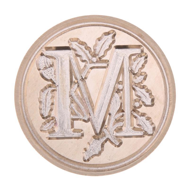 Lakstempel letter M