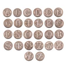 Lakstempel alfabet