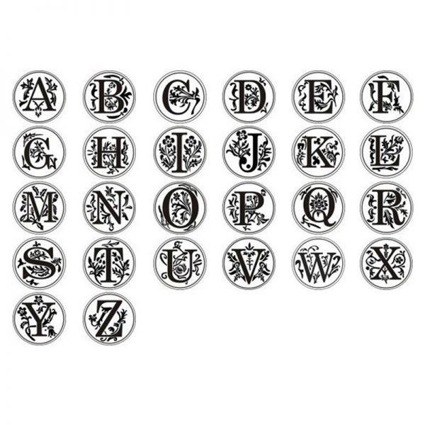 alfabet stempels