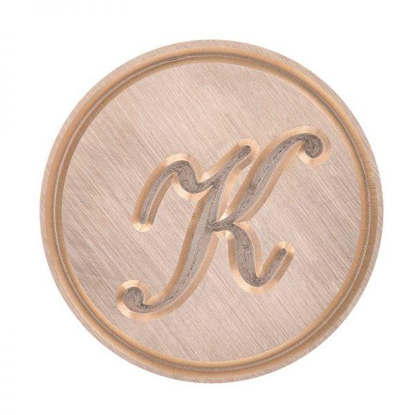k letter stempel