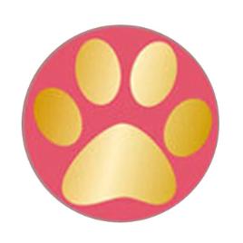 Hondenpoot zegel