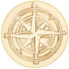 Kompas lakstempel
